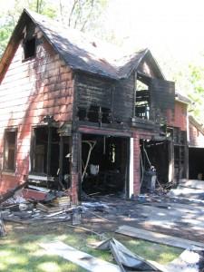 Carriage Barn Fire - 114 N. Hartwell